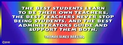 Original Aphorism: The best Students . . .